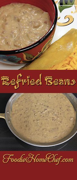 Refried Beans - Everyone who's ever tasted these has commented that these are the best #RefriedBeans they ever tasted, so hopefully you'll love them too! --------- #Food #Cooking #Recipe #Recipes #Cuisine #GreatFood #HomeCooking #ComfortFood #RefriedBeansRecipes #MexicanFood #MexicanRecipes #SideDishes #PintoBeanRecipes #SpicyRecipes #Dip #DipRecipes #BeanDip