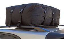 Roof Top Cargo Rack Carrier Waterproof Luggage Travel 10 cf Storage For SUV AUTO