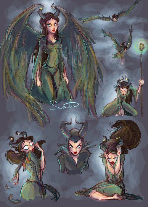 Maleficent by Samantha Dodge
