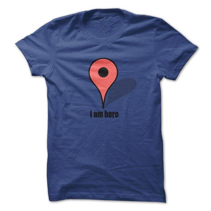 Camisetas Criativas e Engraçadas - Camiseta Google Maps – Camisetas Net