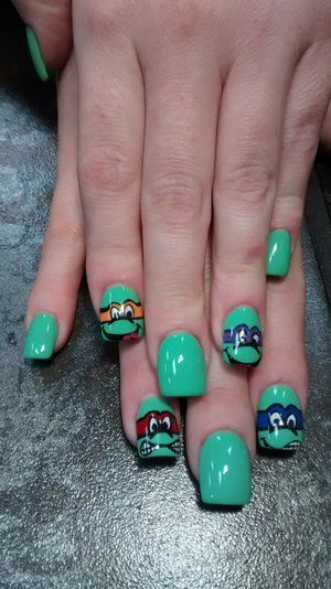 green ninja turtles