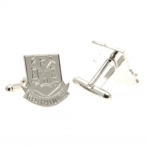 West Ham United F.C. Sterling Silver Cufflinks