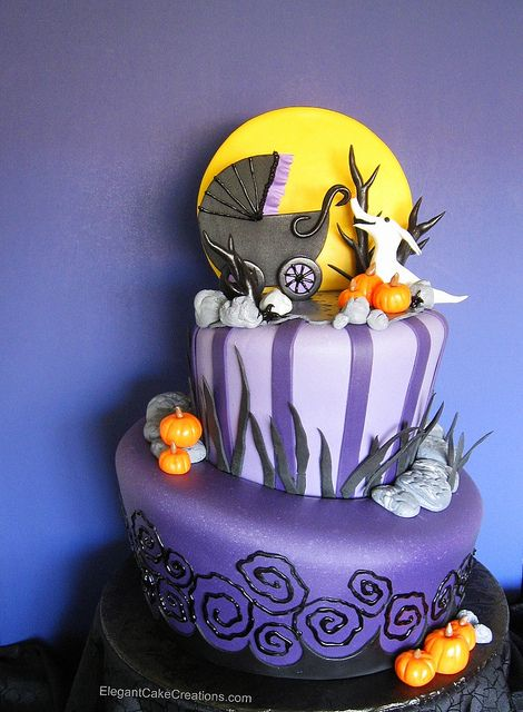 Nightmare Before Christmas Baby Shower Cake...@Anna Totten Totten Totten  Halliwell Boyd - Best 20+ Halloween Baby Showers Ideas On Pinterest October Baby