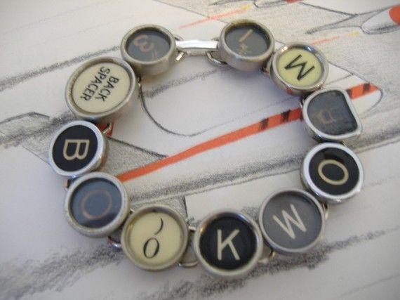 manual typewriter how to make keys