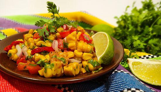 Кукурузная сальса (Corn Salsa)