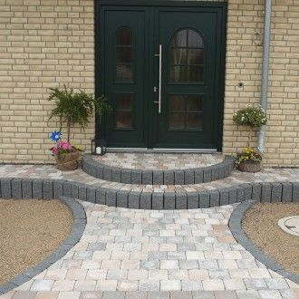 best 25 front steps stone ideas on pinterest front. Black Bedroom Furniture Sets. Home Design Ideas