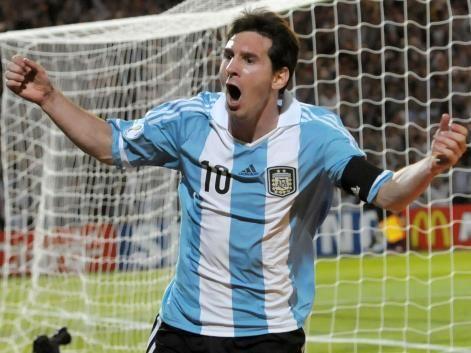 Lionel Messi, el gran 10 de la seleccion argentina