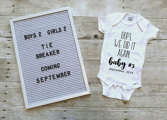 I/'m Pregnant Sign Pregnancy Announcement Photo Prop Onesie\u00ae perfect for Surprise New Baby or Baby Coming Soon We/'re Expecting