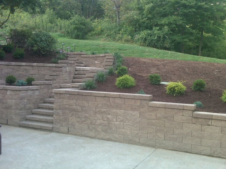 17 best images about Retaining wall on Pinterest Canada