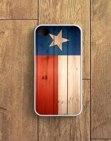 Texas State Flag Wood Design iPhone 4 | 4S Case