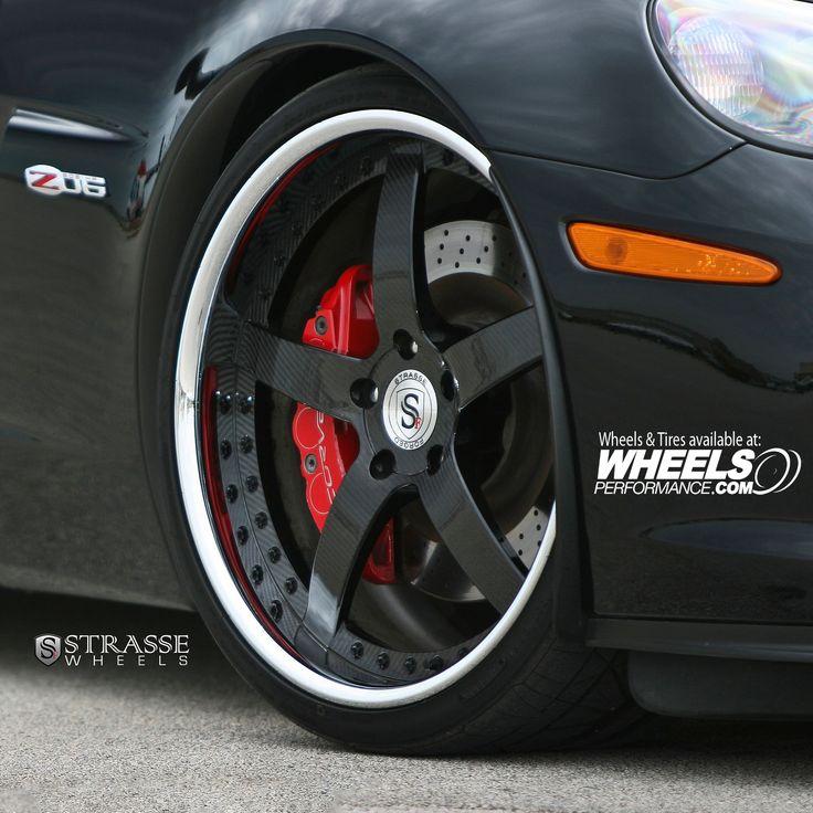 Strasse S5 Signature Series Wheels on Chevrolet Corvette C6 Z06 finished in #CarbonFiberCenters #ChromeLips #GlossBlackHardware #GlossBlackInnerBarrels  @StrasseWheels   #wheels #wheelsp #wheelsgram #strasse #strasseforged #s5 #wps5 #threepiece #strassewheels #forged #teamstrasse #wpstrasse #wheelsperformance #chevrolet #corvette #c6 #z06  Follow @WheelsPerformance 1.888.23.WHEEL(94335)   www.WheelsPerformance.com