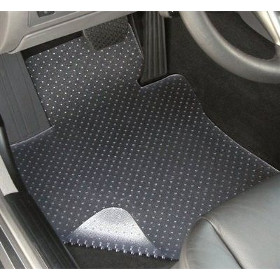 2014-2015 Toyota Tacoma Access Cab with console Clear Floor Mats (4 Piece Set)