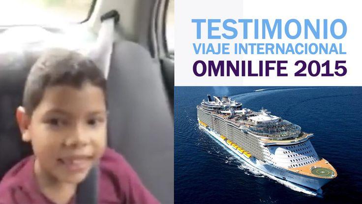 Testimonio ViajeOmnilife Cómo no emocionarse con el testimonio de esta familia maravillosa, especialmente con las palabras de Carlitos, quién nos habla de su experiencia en el pasado Viaje Omnilife 2015 Si te gusta viajar o es uno de tus sueños con Omnilife puedes lograrlo  Trabaja por alc... Testimonio Viaje Omnilife - http://www.redgrupoangeles.com/testimonio-viaje-omnilife/