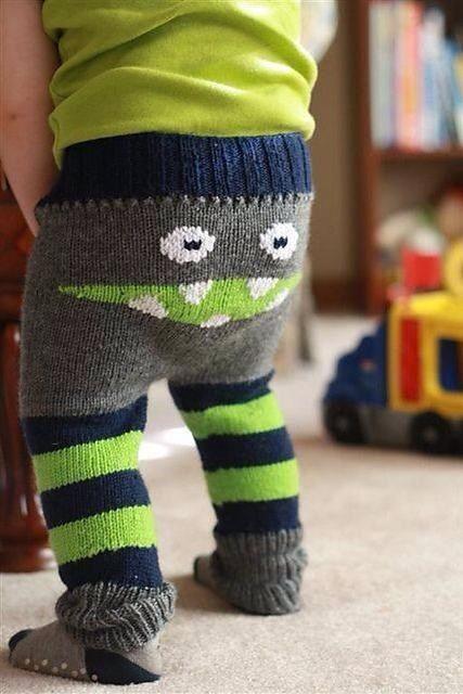 Monster Wool Longies