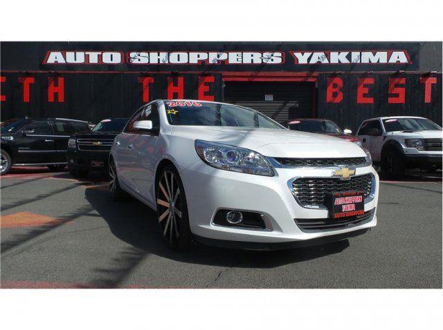 2016 Chevrolet Malibu LTZ #cars #usedcars #autosales