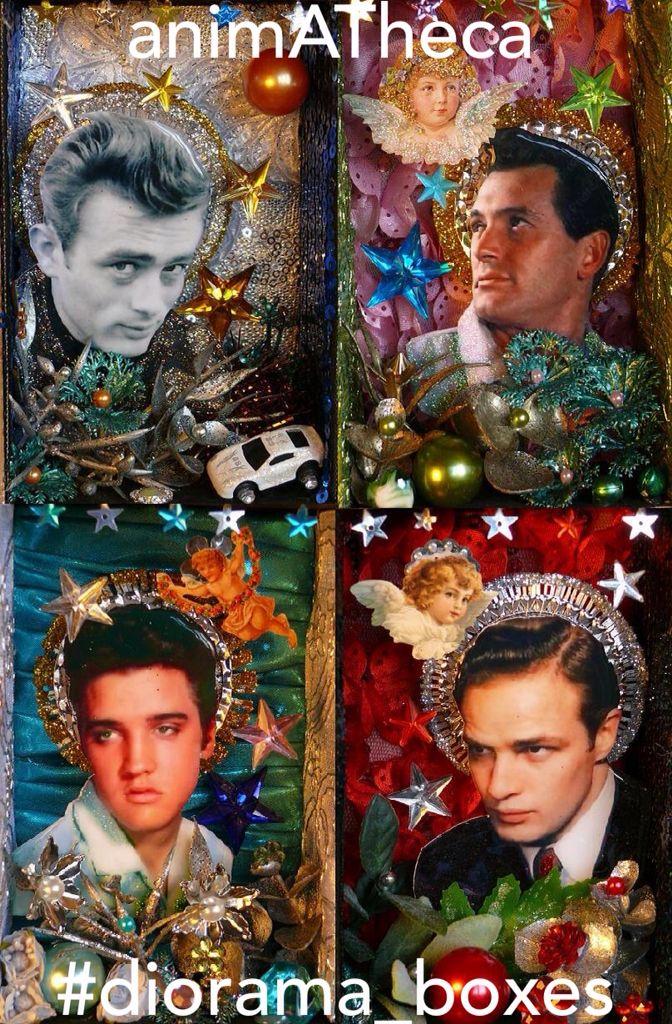 Jimmy, Rock, Elvis and Marlon