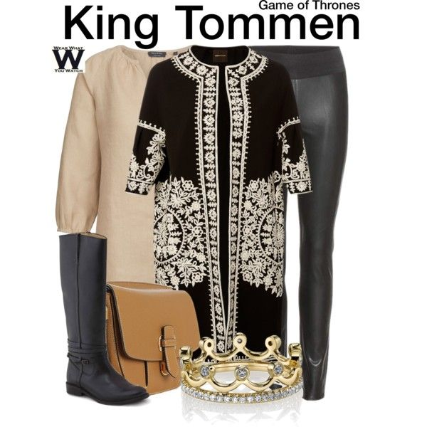 Inspired by Dean-Charles Chapman as King Tommen on Game of Thrones