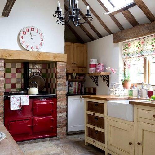 Best British Kitchen Images On Pinterest Cottage Kitchens - Irish country kitchen ideas