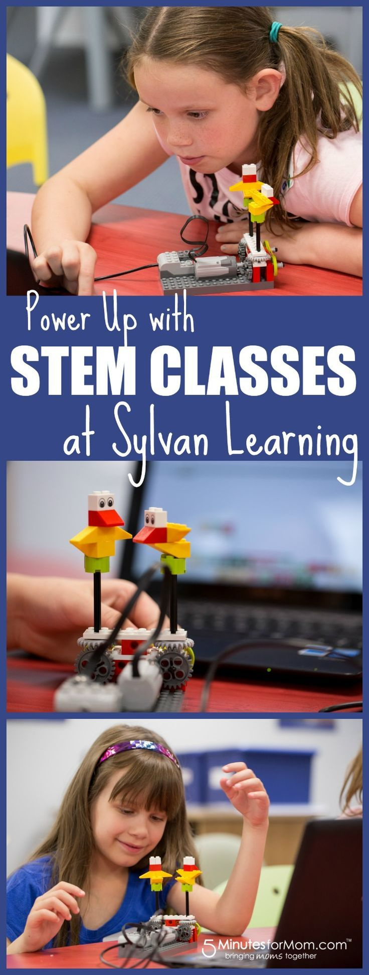 Sylvan EDGE classes teach STEM concepts using fun technology. We tested out the kids Robotics class.