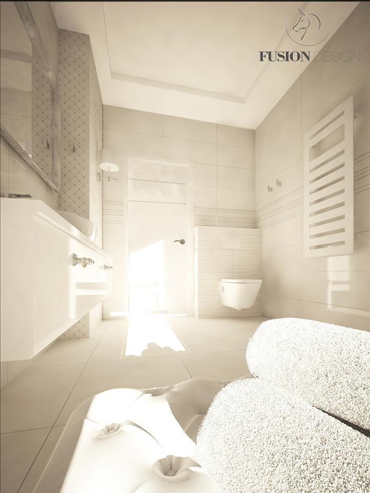 modern & scandi bathroom for guests