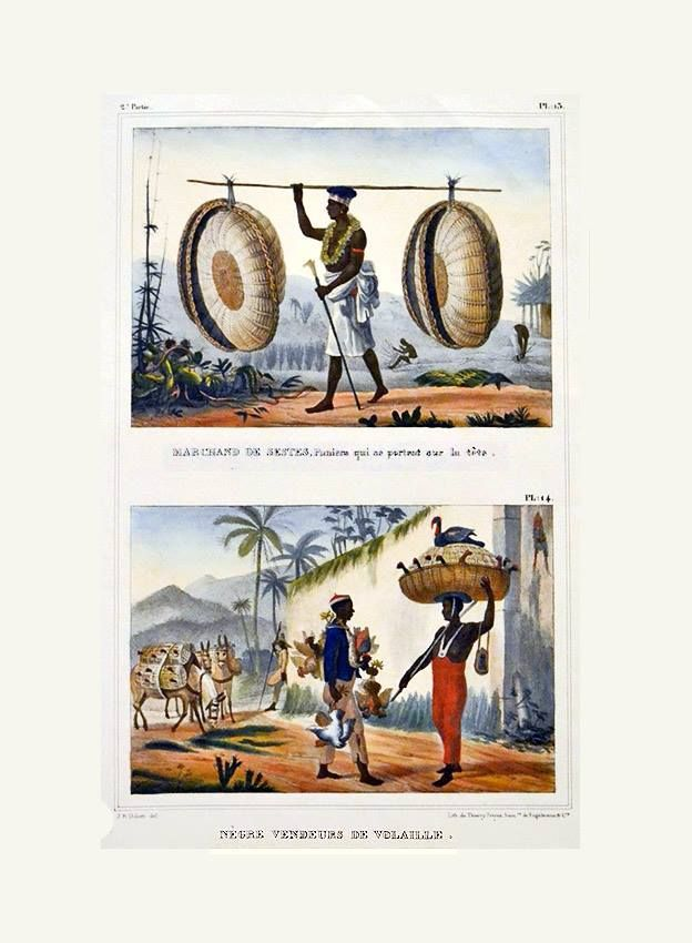 A escravidão por Debret Parte das aquarelas de Debret feitas no Brasil, litografadas, ilustra a obra Viagem Pitoresca e Histórica ao Brasil, publicada entre 1834 e 1839. http://sergiozeiger.tumblr.com/post/116835074148/jean-baptiste-debret-18-4-1768-paris-11-6-1848 O livro, em três volumes, trata das florestas e dos selvagens, das atividades agrárias, do trabalho escravo e também dos acontecimentos políticos e culturais. Apresenta muitos aspectos relacionados ao trabalho escravo, ora…