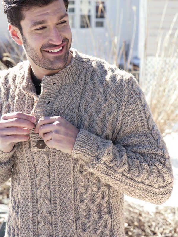 443189526 Berroco Gateshead Men s Sweater Knitting Pattern PDF Download Free Aran Knitting  Patterns