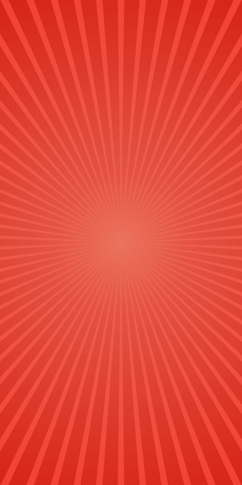 Red Abstract Retro Ray Burst Background Gradient Vector