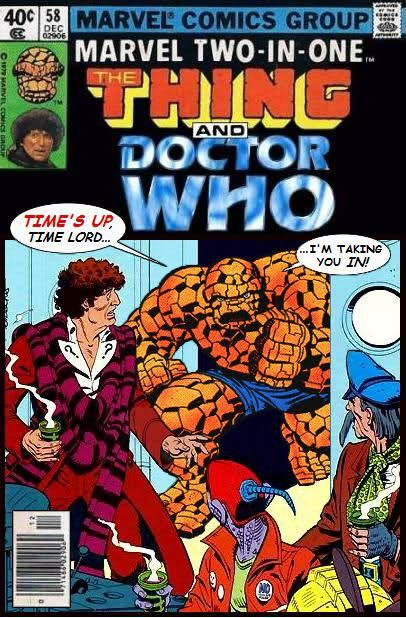 The Fourth Doctor meets The Thing