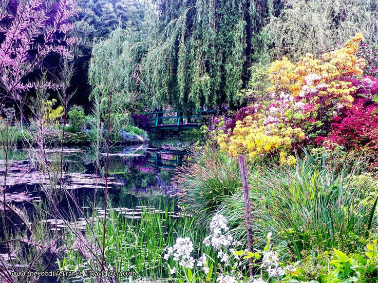 Monet's Garden Giverny, Photo of the Week from France : The Good Life France