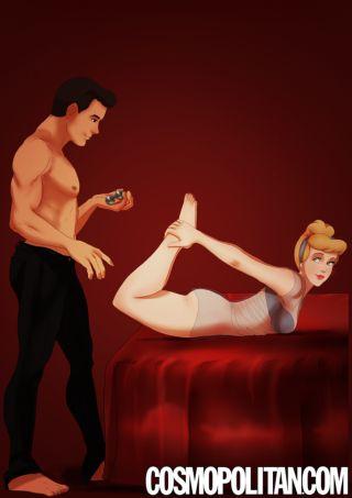 Le coppie Disney interpretano 50 sfumature Cenerentola fetish