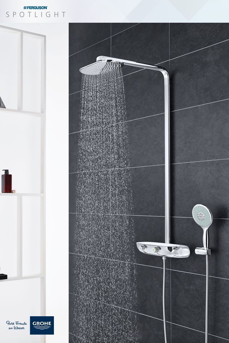 The Innovative GROHE SmartControl Shower System Technology Lets Users  Choose The Outlet, The Water Flow