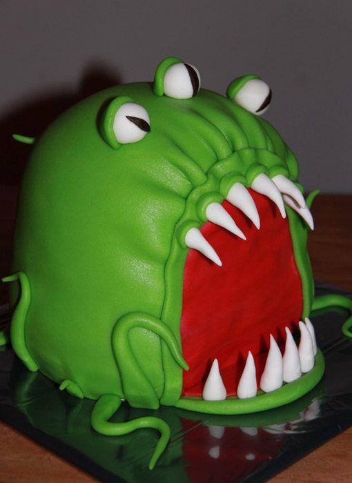 3D taarten - Koning Kikker Monster cake