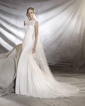 Trending  uOreste u Pronovias Barcelona Wedding dress Collection available at Instyle Bridal Drummoyne Sydney