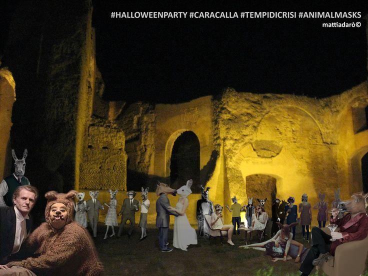 halloween party (terme di caracalla) (mattiadarò©)