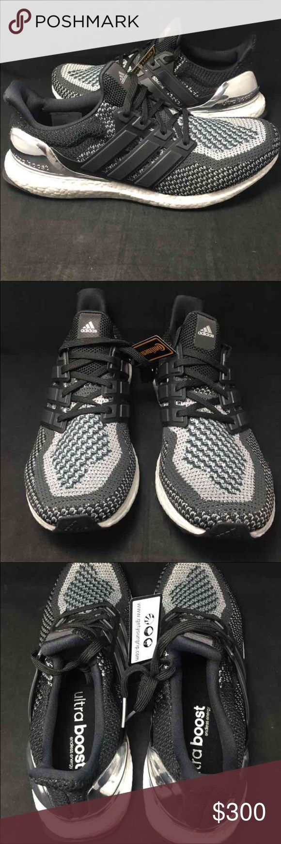 467eb72bf54 ... Adidas Ultra Boost LTD Silver Medal M 10.5 W 12 Adidas Ultra Boost LTD  ...