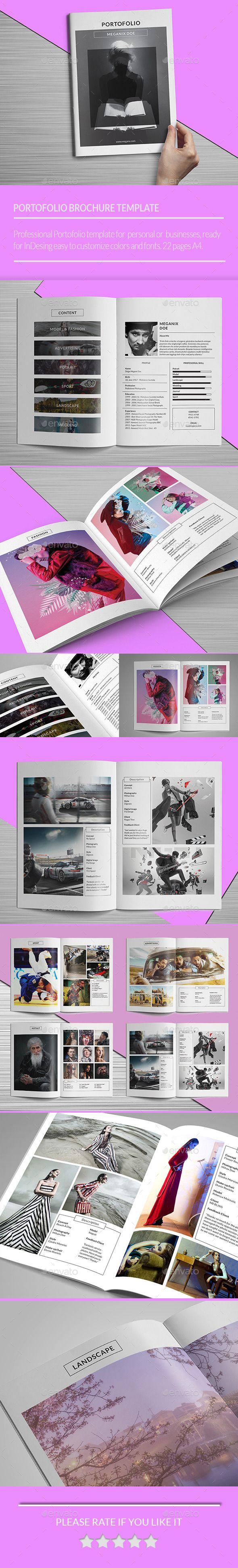 Minimal Portofolio Brochure