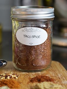 Taco Seasoning from Scratch Recipe