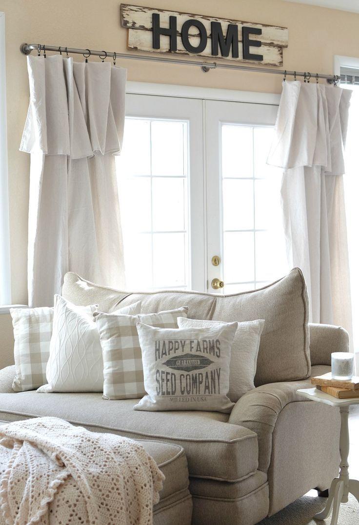 Farmhouse living room chairs - Farmhouse Decor And Pillow Happy Farm Seed Company Pillow