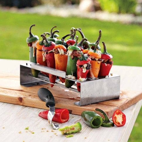 For Cinco de Mayo.: Totaly Adding, Fun Recipes, Food, Savory Recipes, May 5, Pepper Griller, Pepper Roaster, Jalapeño Pepper