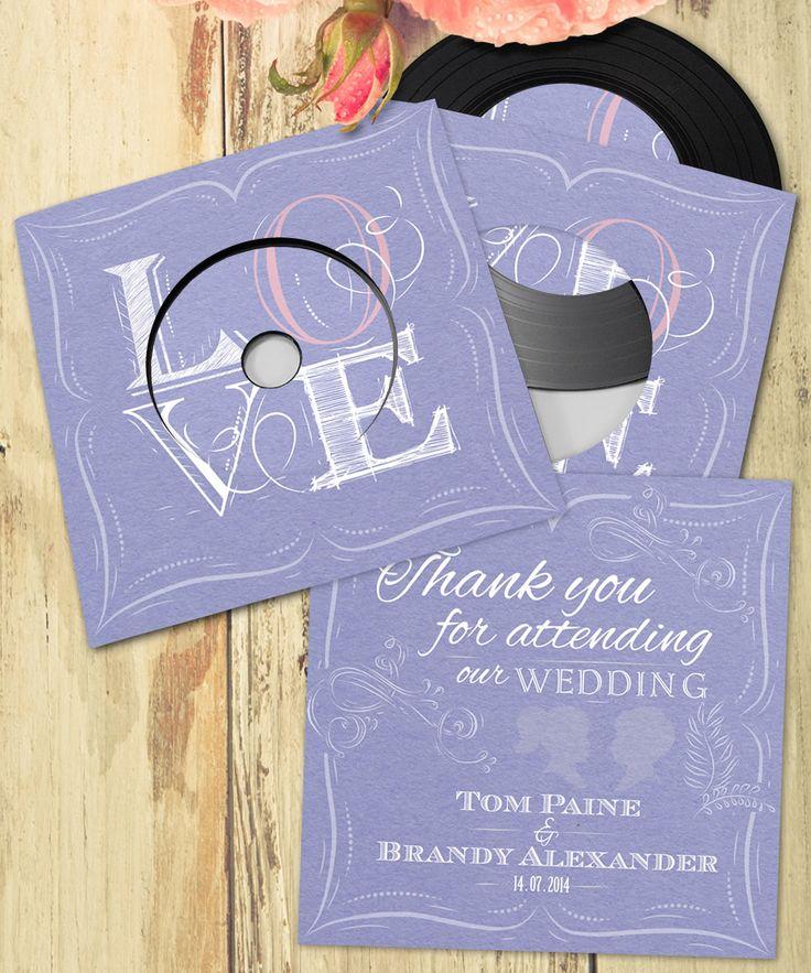 Custom printed wedding favour CDs and wedding invitation CDs | Band CDs