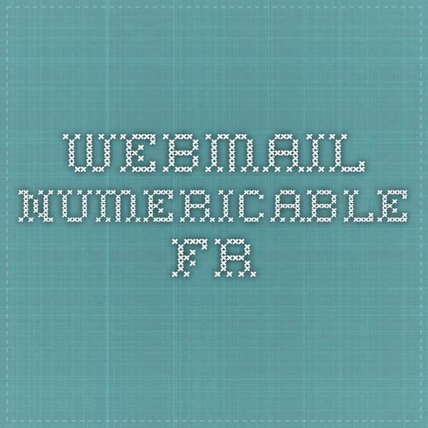 webmail.numericable.fr