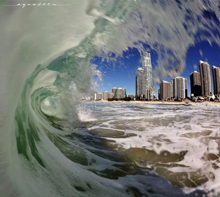 ✮ The Gold Coast, Australia - Captured through the waves