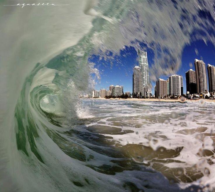 Gold Coast, Australia by Matt Shepherd (click to see this wonderful shot).