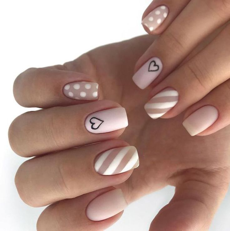 #Valentine'sDaynails; red nail art designs; pink nails; heart nails; acrylic n…