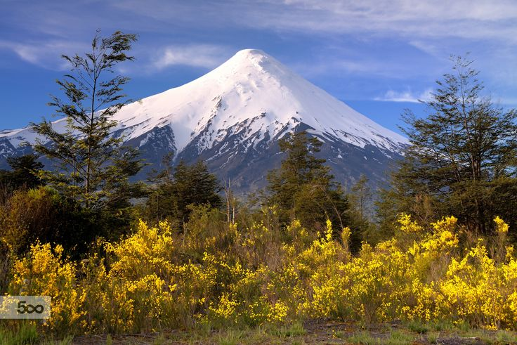 Osorno Volcano - Patagonia (Chile) by Jorge Leon on 500px
