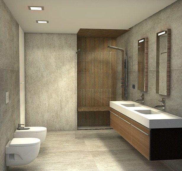 Propuesta para el ba o principal de la vivienda que - Interiorismo banos modernos ...