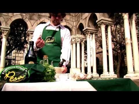 Pesto World Championship held in Genoa, Italy every two years.