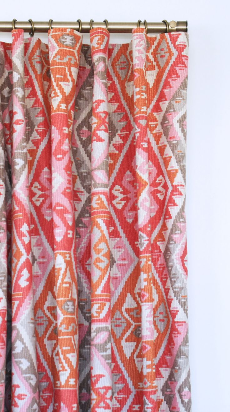 Peach curtains drapes - Find This Pin And More On Curtains Drapes By Tonic Living