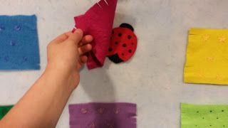 The Buckeye Librarian: Flannel Friday: Ladybug Guessing Game