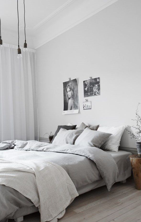 Light grey room best 25 light grey bedrooms ideas on for Grey wall bedroom ideas